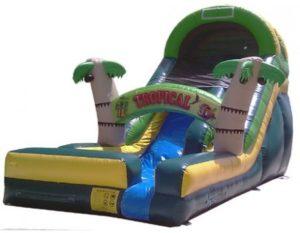 Tropical Water Slide 18'H